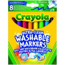Crayola 8db-os lemosható filc