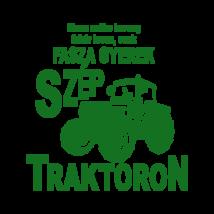Fasza gyerek traktoron