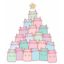 Macskás karácsonyfa