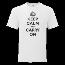 Keep Calm Carry On férfi