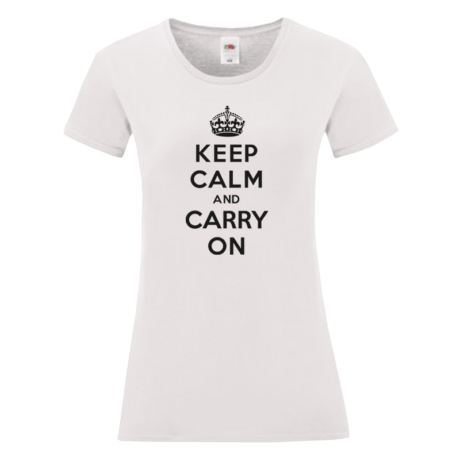 Keep Calm Carry On Női