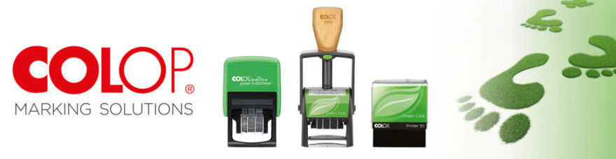 colop környezetbarát bélyegzők