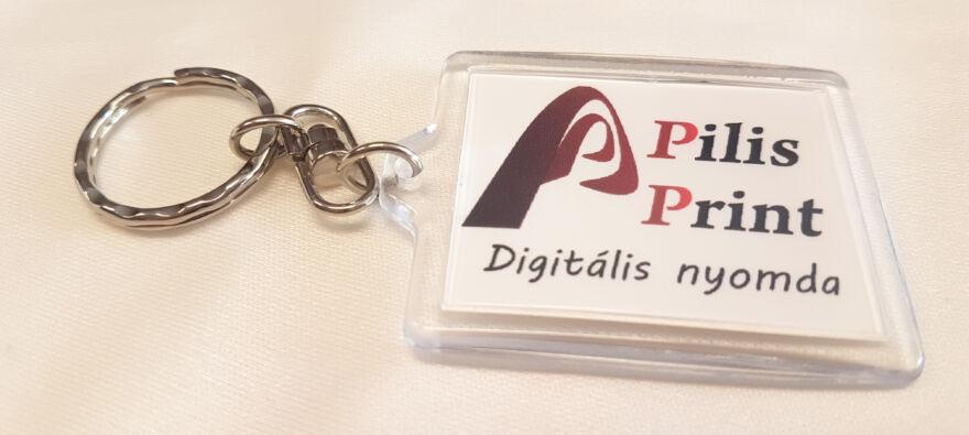 Pilis Printes céges kulcstartó
