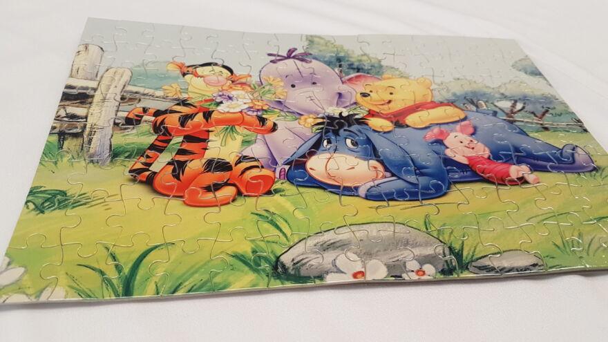 Micimackós puzzle
