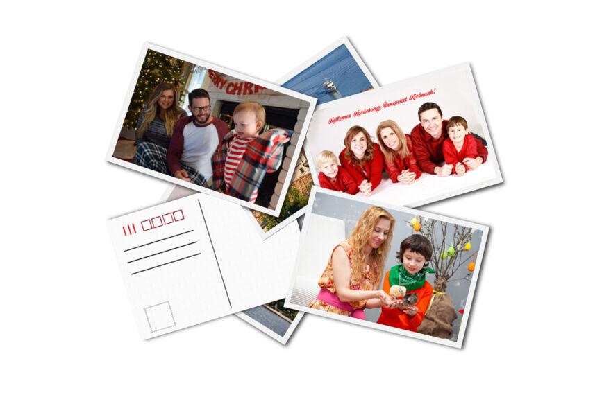 karácsonyi és húsvéti képeslap