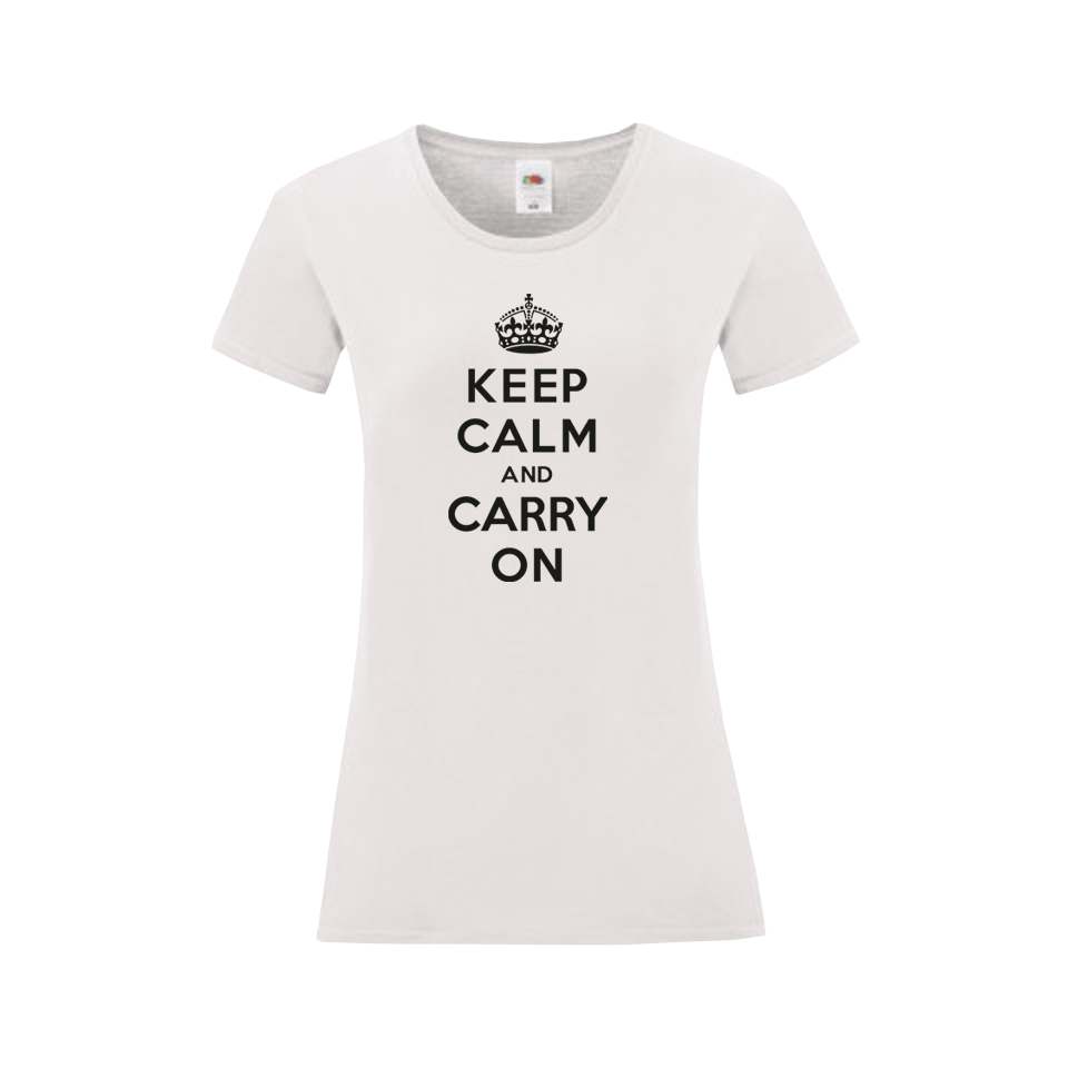 Keep Calm Carry On Női